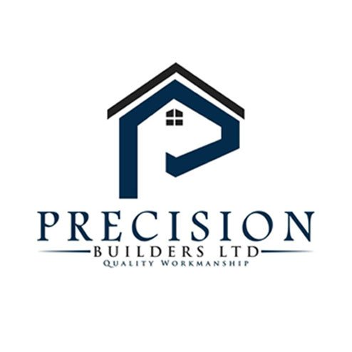 Precision Builders logo social media, SEO, PPC and website managed by Anderson Evans Marketing Consultancy